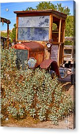 Acrylic Print featuring the photograph China Ranch Truck by Jerry Fornarotto