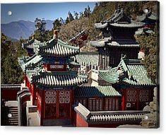 Acrylic Print featuring the photograph China Summer Palace by Henry Kowalski