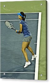 China Tennis Star Li Na Acrylic Print