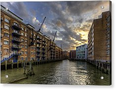 China Wharf Acrylic Print