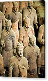 China, Xi'an, Qin Shi Huang Di Acrylic Print