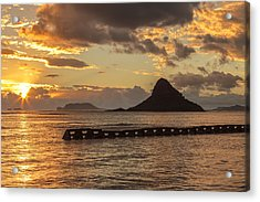 Chinaman's Hat 5 Acrylic Print by Leigh Anne Meeks