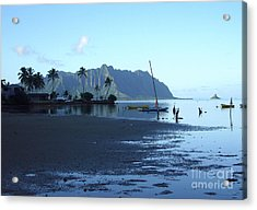 Chinaman's Hat From Kaneohe Bay Acrylic Print by Mukta Gupta