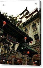 Chinatown Entrance Acrylic Print