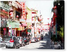 Chinatown Gate On Grant Avenue In San Francisco 7d7175wcstyle Acrylic Print