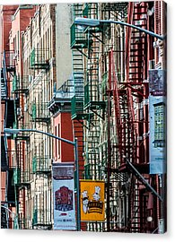 Chinatown Acrylic Print by James Howe