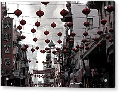 Chinatown Acrylic Print by Larry Butterworth