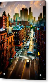 Chinatown Streets Acrylic Print by Chris Lord