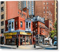 Chinatown View Acrylic Print