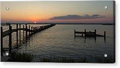 Chincoteague Island Sunset Acrylic Print