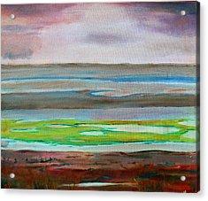 Chincoteague Acrylic Print by Rosemarie Hakim