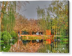 Chineese Garden Acrylic Print