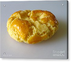 Acrylic Print featuring the photograph Chinese Almond Cookie by Nina Silver