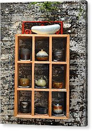 Chinese Ceramics Acrylic Print