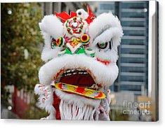 Chinese Dragon Rising Acrylic Print