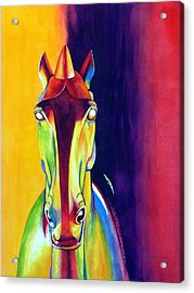 Chinese Dream Horse Acrylic Print