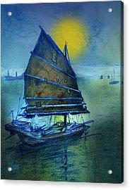 Chinese Junk Acrylic Print