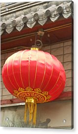 Chinese Lantern Acrylic Print by Kay Gilley