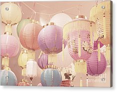 Chinese Lanterns Acrylic Print by Cindy Garber Iverson