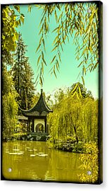 Chinese Pavillion Acrylic Print