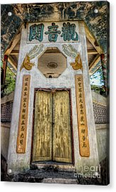 Chinese Temple Acrylic Print