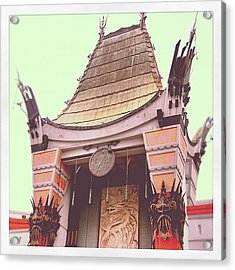Chinese Theater Acrylic Print