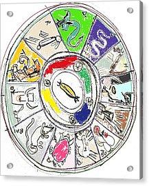Chinese Zodiac Acrylic Print