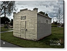 Chino Jail - 02 Acrylic Print by Gregory Dyer