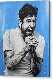 ' Chino Moreno ' Acrylic Print