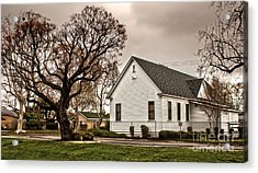Chino Old School House - 02 Acrylic Print by Gregory Dyer