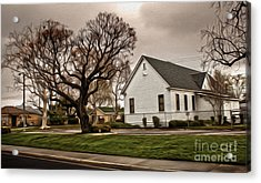 Chino Old School House - 04 Acrylic Print by Gregory Dyer