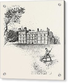 Chipchase Castle,  Is A 17th-century Jacobean Mansion Acrylic Print by English School