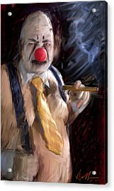 Chippy The Clown Acrylic Print
