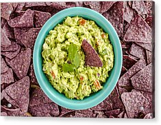 Chips And Guacamole Acrylic Print
