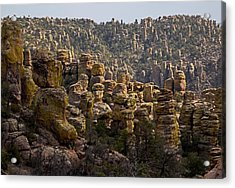 Chiricahua National Park - The Grotto 02 Acrylic Print by George Bostian