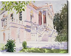 Chiswick House Acrylic Print by Lucy Willis