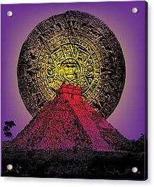 Chitzeniza Acrylic Print by Gary Grayson