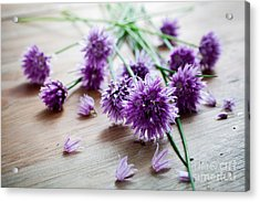 Chives Acrylic Print
