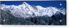 Cho Oyu From Goyko Valley Khumbu Region Acrylic Print by Panoramic Images