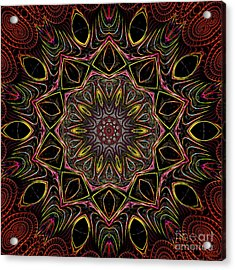 Acrylic Print featuring the digital art Chocolate 3d Art by Hanza Turgul