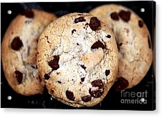 Chocolate Chip Cookies Acrylic Print by John Rizzuto
