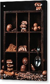 Chocolate Collection Acrylic Print