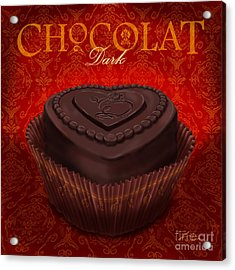 Chocolate Dark Acrylic Print