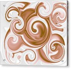 Chocolate Milk Take 2 Acrylic Print by Ron Hedges