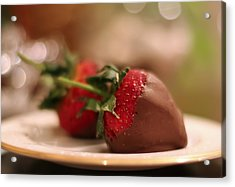 Chocolate Strawberries Acrylic Print
