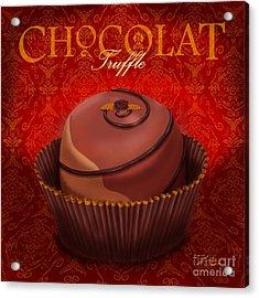 Chocolate Truffle Acrylic Print