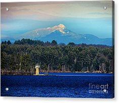 Chocorua And Spindle Point Acrylic Print