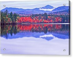 Chocorua Lake Acrylic Print by Michael Hubley