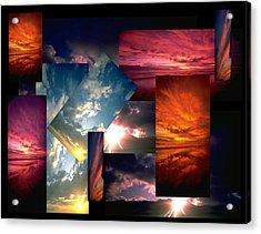 Choose Your Own Sunrise Acrylic Print by Darryl  Kravitz