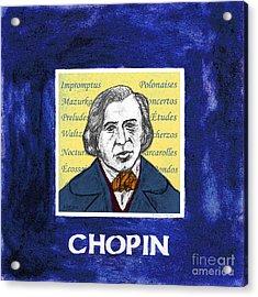 Chopin Acrylic Print by Paul Helm